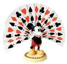WDCC PLAYING CARD PLUMAGE MICKEY MOUSE